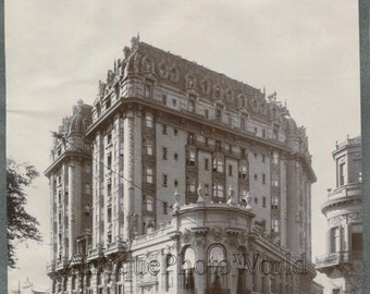 Argentina Buenos Aires street view antique architectural art photo