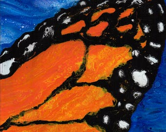 Butterfly wing, Original painting BW12x12-4