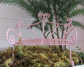 Fairy Garden Accessories, Miniature Garden Bench