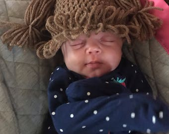 Lil Baby doll hair beanie