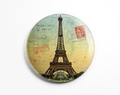 Button Magnet Paris Vinta...