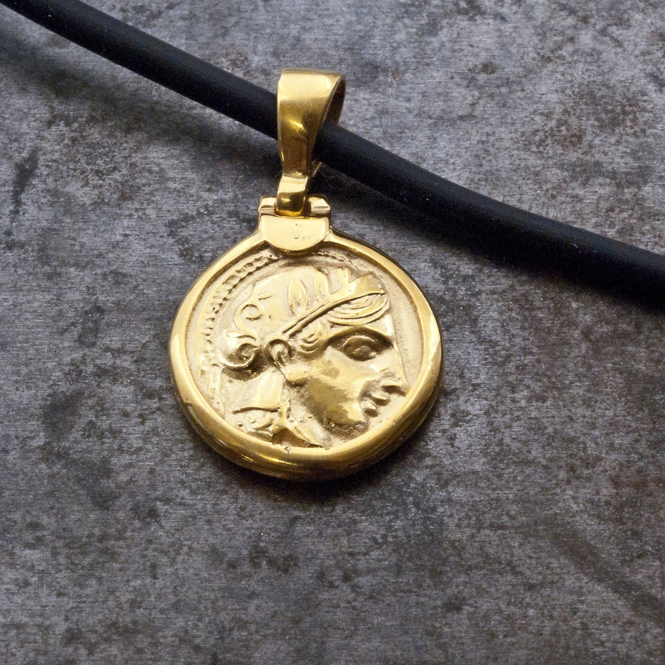 shop ancient coin necklace products pendant chain mango necklaces helen tree