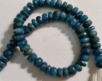 Neon Apatite faceted Rounde Beads 9-10mm Size .