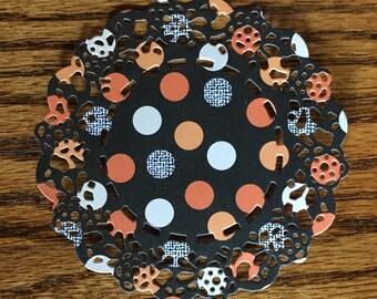 Paper Doilies - Set of 8 -- Handmade