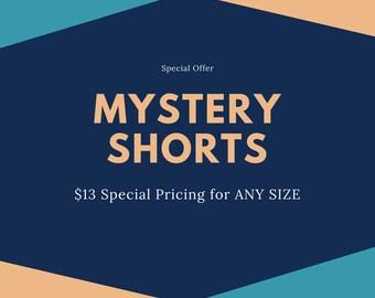 MYSTERY Shorts - Baby Shorts - Toddler Shorts - Newborn Shorts - Cloth Diaper Shorts by Note Any Treble