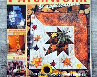 Magazine Elena patchwork & 16 applications