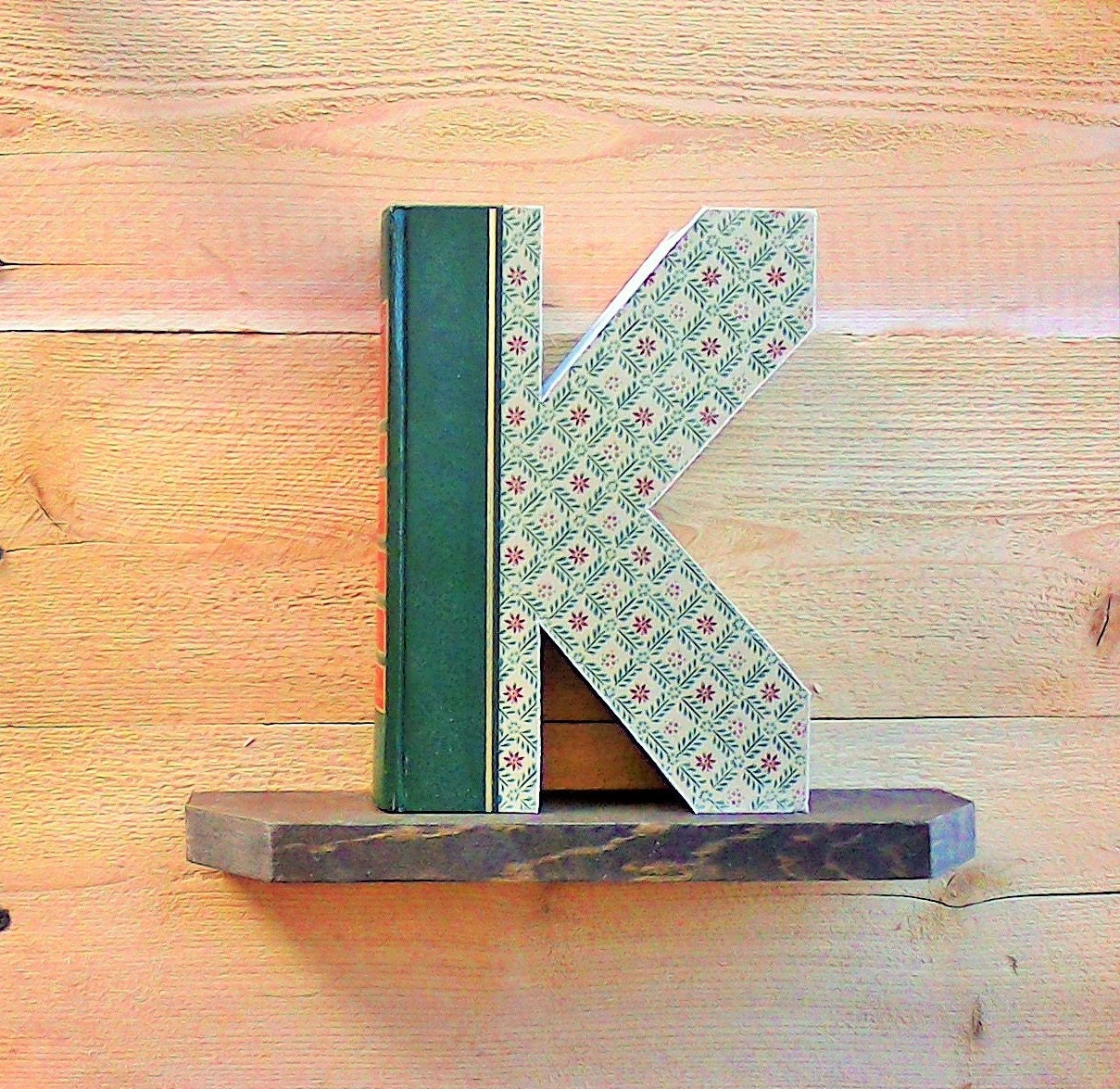 Book letter k 344ady made letters cut letter books zoom spiritdancerdesigns Gallery