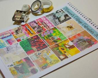 iHanna's Collage Wall Calendar 2018 - printed version