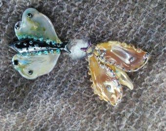 Fairy Moth Brooch