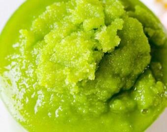 Sugar Scrub Jar l 4oz l Organic l Vegan