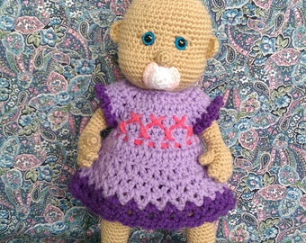 Crocheted Baby Doll - MADE TO ORDER