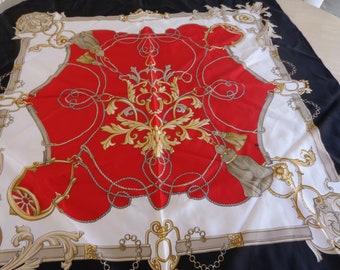 Scarf - Vintage Tassel design scarf.  Soft and lovely