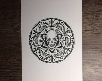 Mandala (original drawing)
