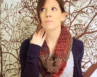 Men's or Women's Volcano Medley Infinity Scarf