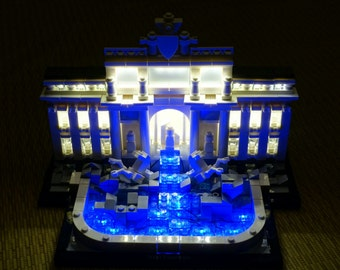 Light up kits for LEGO Architecture 21020 Trevi Fountain Building Kit (Model not included)