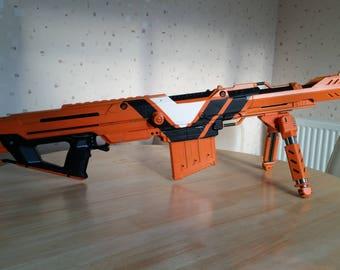 Custom Nerf - Giant videogame inspired Cannon