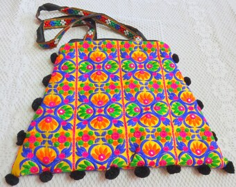 Kutch Embroidered Bag - Ethnic Indian Tote bag