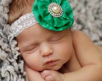 Newborn Headband, Infant headband, baby headbands, baby girl hairbows, baby hairbows, baby hair accessories.