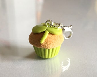 St. Patrick's Day Cupcake / Polymer Clay