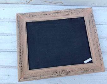 Framed Chalkboard, wedding sign, Blush chalkboard, pink Chalkboard, chalkboard Sign, baby shower decor, home decor, photo prop, 134.1