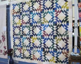 Vermont colors queen quilt