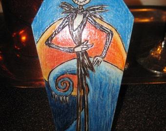 Jack Skellington Inspired Coffin
