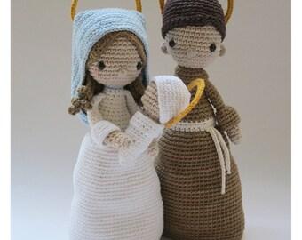Nativity Set - Crochet Pattern by {Amour Fou}