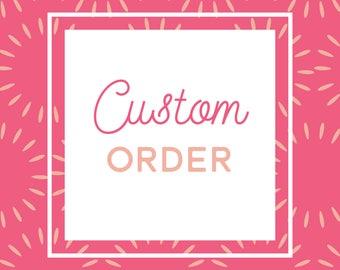 Custom sign set