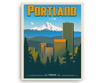 "Portland ""P-Town"" Oregon 