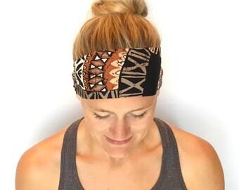Running Headband - Workout Headband - Fitness Headband - Yoga Headband - African