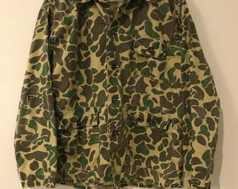 70's Duck Camo Shirt/Jacket