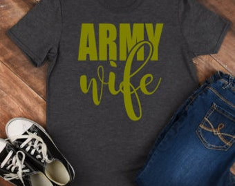 Army Wife Svg; Army Wife; SVG; PNG; DXF; Digital Download; Cricut File; Cameo File; Silhouette File; Vector; Cut File; Army svg;