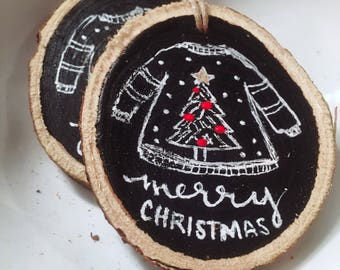 Ugly Sweater - ornament