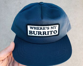 Wheres My Burrito Snapback Hat