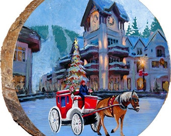 Carriage Ride Through Christmas Town - DX092