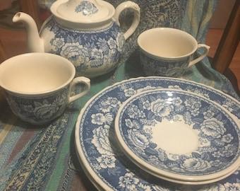 Mason's Crabtree & Evelyn Ironstone Tea Set