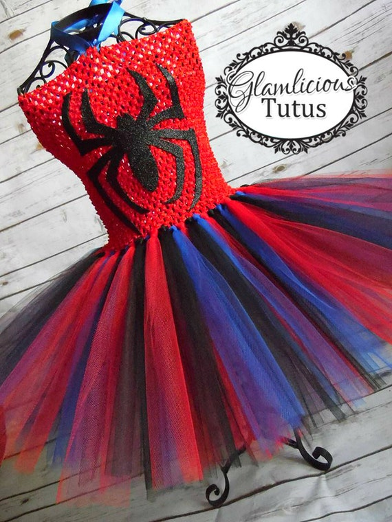 Spiderman Tutu Dress
