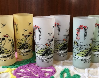 MCM Southern Bell tumblers