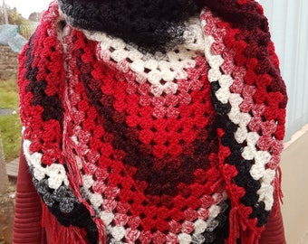 winter shawlette