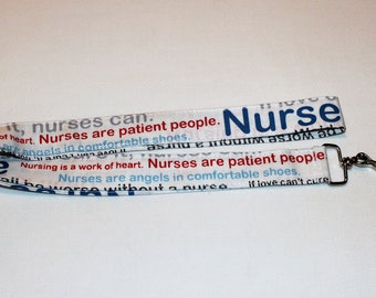 Lanyard - Nurses are patient people
