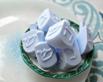 Mini Dreidel Soaps - Hanukkah Gift