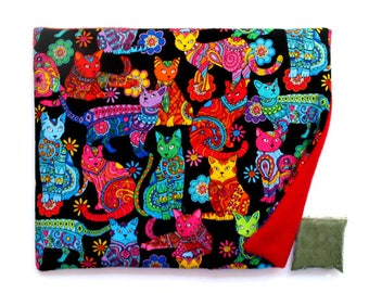 Catnip Mat plus Catnip  Gorgeous Cats Refillable Reversible