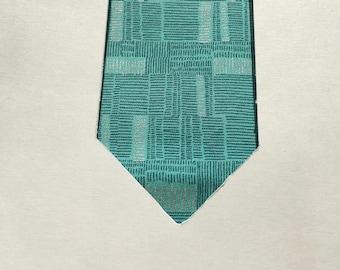 Cyborg Teal Necktie