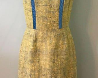 1950s Vintage  Mad Men Wiggle Dress  ~SALE~