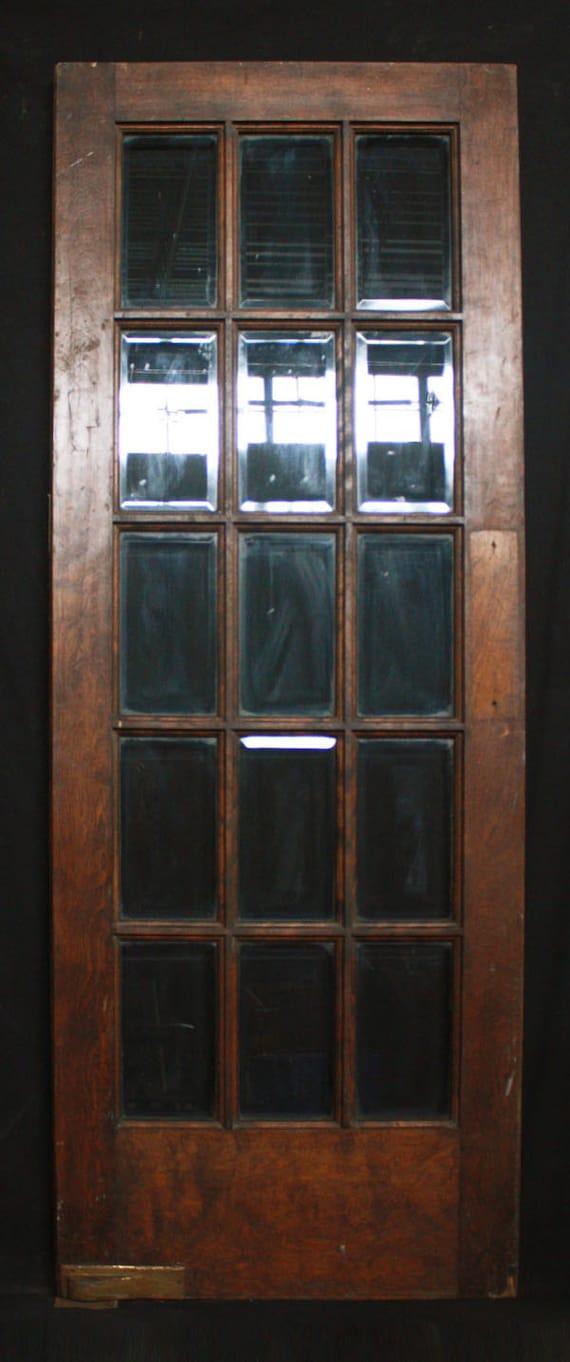 Like this item? - 30x 80 Antique Interior French Swinging Birch Door