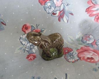 Vintage Wade England Whoppa Elephant Figurine