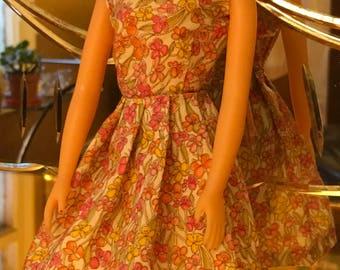 Anouk Sommerkleid in Tana Liberty Rasen Stoff