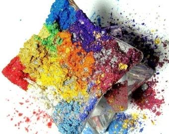 Vegan 10 Jars You Choose the Colors Mineral Makeup Kit Bright Colors
