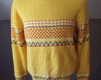 Vintage Mens Long Sleeve Sweater by Jantzen