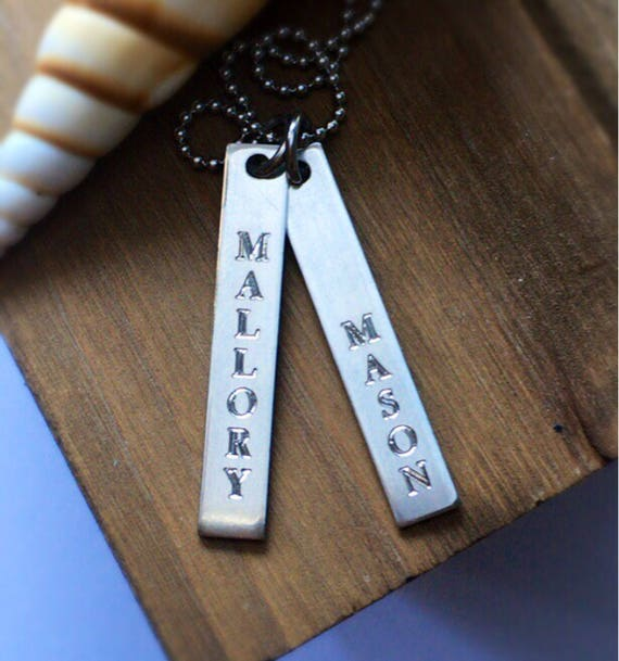 Bar Necklace | Name Necklace